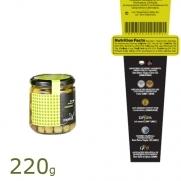 Mestral Arbequina olijven 220gr
