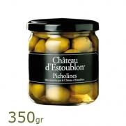 Estoublon olijven Picholine 350gr